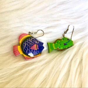 Fish earrings 🐟🐠